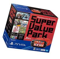 PlayStation Vita Super Value Pack Wi-Fi model Red / Black