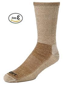 3 Pair Super-wool Hiker GX Merino Wool Hiking Socks , Olive