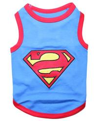 Parisian Pet Superman Dog T-Shirt, 3X-Large