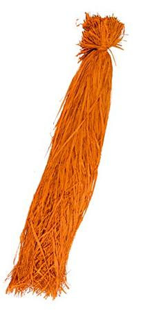 SuperMoss  1lb Raffia Hank, Orange, 1lb