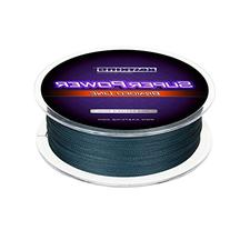 KastKing SuperPower Braid Fishing Line,  Low-Vis Gray, 65LB/0.45mm