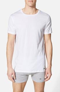 Men's Lacoste Supima Cotton T-Shirt, Size Small - White
