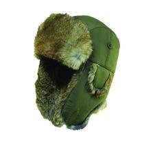 Woolrich Supplex Fur Trooper Hat Olive-Medium - Woolrich
