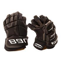 Bauer Supreme TotalOne MX3 Youth Hockey Gloves, 8 Inch, Navy