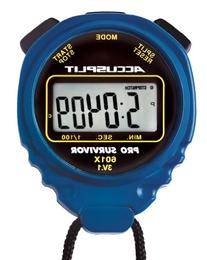 ACCUSPLIT Pro Survivor - A601X Stopwatch, Clock, Extra Large
