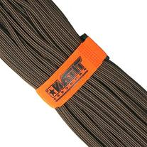 TITAN SurvivorCord, Bronze, 100 Feet - Patent-pending design integrates Fishing Line, Waxed Jute, and Copper Wire into our #1-Rated Military 550