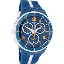 Swatch Men's Originals SUSN403 Blue Plastic Swiss Quartz