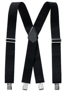 Fad Treasures 74-16163 Black Suspenders