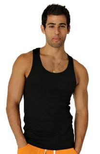 4-rth Sustain Tank Top-Black-M