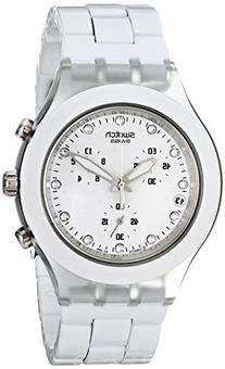 Swatch Men's SVCK4045AG Quartz Chronograph Date Plastic