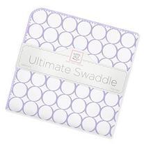 SwaddleDesigns Ultimate Swaddle Blanket - Mod Circles on