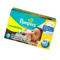 Pampers Swaddlers Diapers, Size 3 , 148 ct