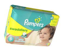 Pampers Swaddlers Diapers - Size 6 - 17 ct