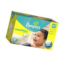 Pampers Swaddlers Diapers, Economy Pack Plus