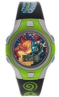 Skylanders Swarp Force Kid's LCD Watch
