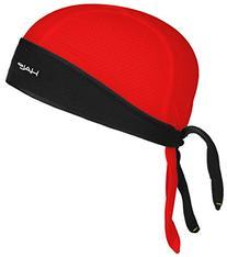 Halo Headband Sweatband Protex Red