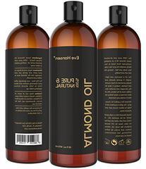 Sweet Almond Oil - Organic Moisturizer for Skin, Face, Body