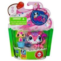 Littlest Pet Shop Sweetest Tiger #3122 and Puppy #3123