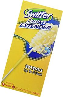 Swiffer 360 Dusters Extender Kit,  3 Unscented Dusters With
