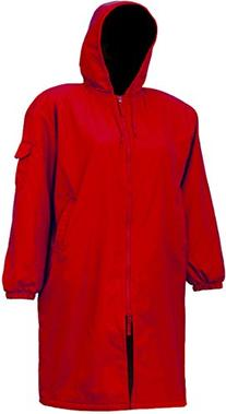 Adoretex Unisex Swim Parka-Red/Black-Youth-Medium