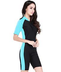 Swimsuit for Lady New Fashion Belloo Design Light Blue Short