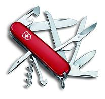 Victorinox Swiss Army Huntsman Pocket Knife, Red