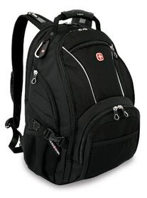 SwissGear SA3181 Black Computer Backpack - Fits Most 15 Inch