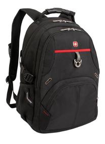 SwissGear SA3183 Black with Red Computer Backpack - Fits
