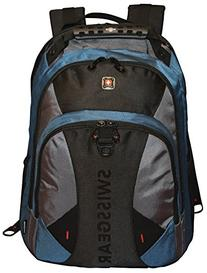 SwissGear® Pulsar 16 Padded Laptop Backpack - Black/Blue