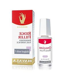 Mavala Base Coat, Ridge Filler for a Smooth Nail Surface, 0.