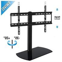 Fenge Swivel Universal TV StandBase Tabletop TV Stand with