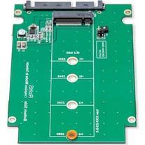 "SYBA SY-ADA40092 2.5"" SATA III to M.2  SSD Enclosure with"