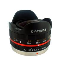 Samyang SY75MFT-B 7.5mm f/3.5 Lens for Micro Four Thirds