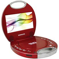 Sylvania SDVD7046-Red 7-Inch Portable DVD Player with