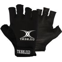 Gilbert Men's Synergie Rugby Gloves Black Medium