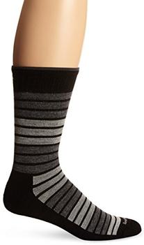 Sockwell Men's Synergy Socks, Black, Large/X-Large