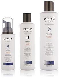Nioxin System 6 - 3 Part System thinning medium coarse Kit