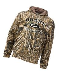 a08ec072fc148 Drake Waterfowl System Embroidered Camo Hoodie for Men -