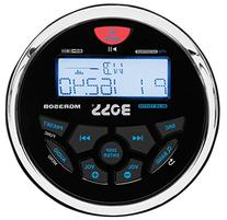 BOSS AUDIO MGR350B Marine Gauge MECH-LESS  Receiver, with