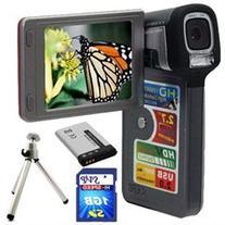 SVP T-608 HD-High Definition 720p Digital Camcorder/8.0MP