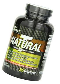 Top Secret Nutrition Natural T - Test Booster Capsules, 90