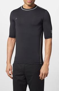 Men's Lacoste Performance T-Shirt, Size 7 - Black