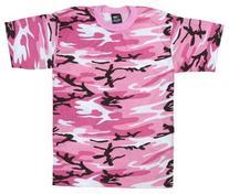 Rothco T-Shirt, Pink Camo, 2X