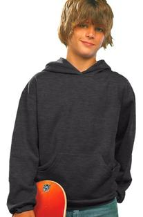 LAT Apparel Youth Pullover Fleece Hoodie - X-Large - Vintage
