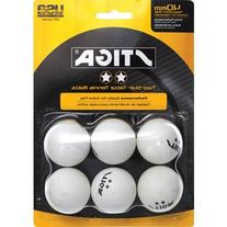 Stiga Two-Star Orange Table Tennis Balls