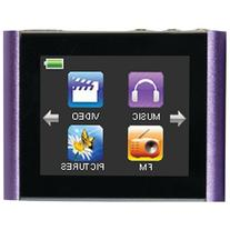 "Eclipse-T180 Purple 4GB 1.8"" T180 MP4 Player, Color Purple"