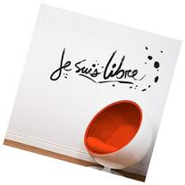BLABLA by ADzif T3138R70 Je suis libre, Wall Decal Color