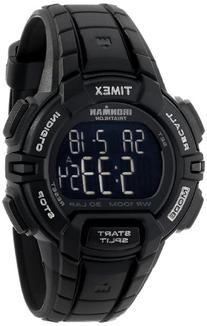 Timex Men's T5K793 Ironman Rugged 30 Full-Size Blackout