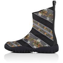 Maison Margiela Women's Tabi Jacquard Ankle Boots