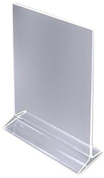 ChefLand Table Card Display/Plastic Upright Menu Ad Frame/